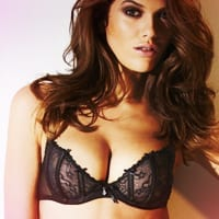 Pure Lace Black Underwired Bra
