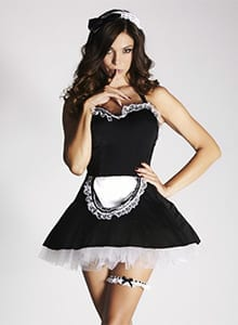 The Mimi Maid is available in size 6 - 20