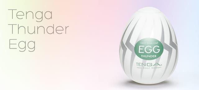 Tenga Thunder egg review