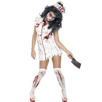 Fever Zombie Nurse Halloween Costume