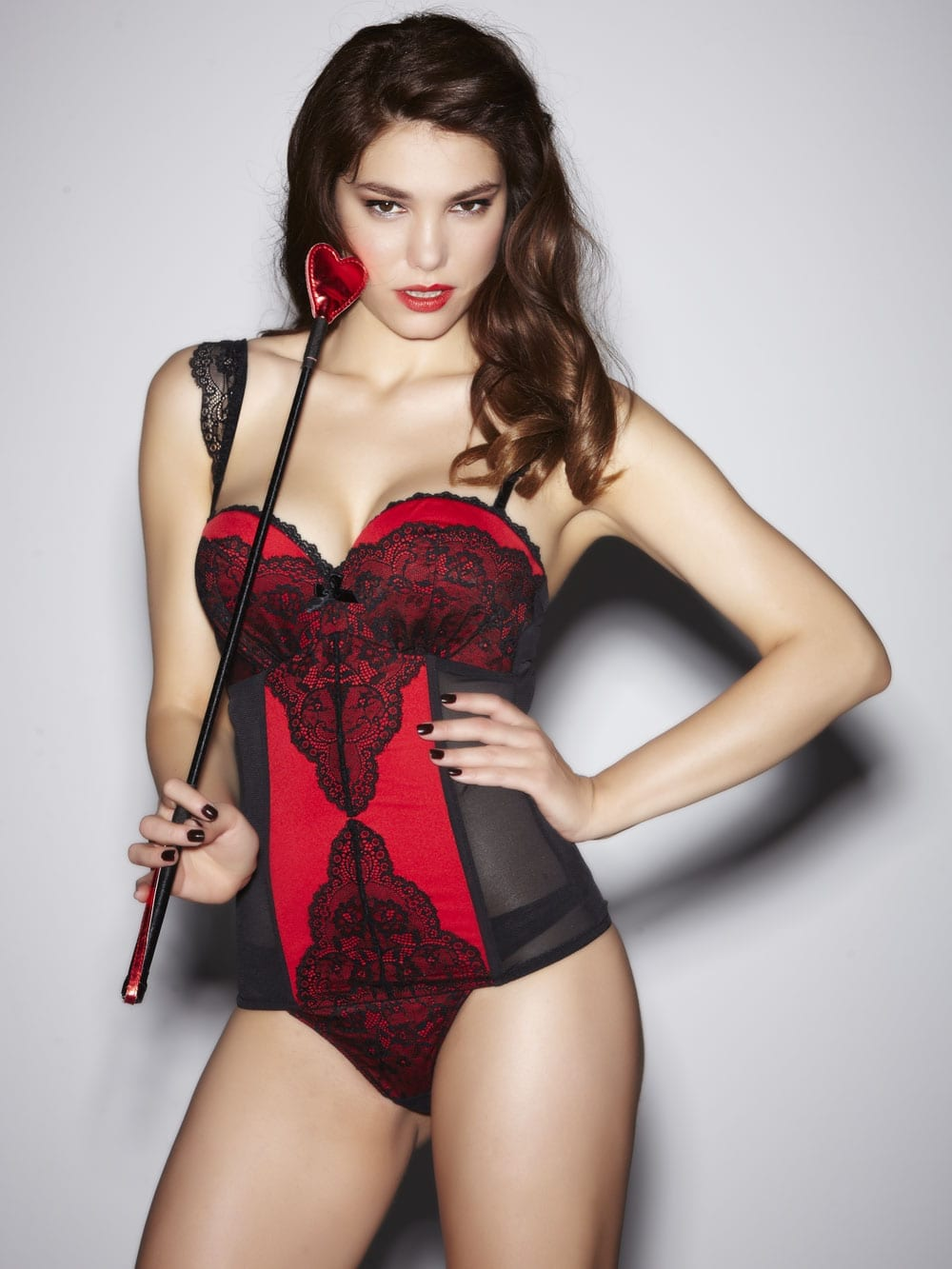 Volume Boost Red/Black Basque